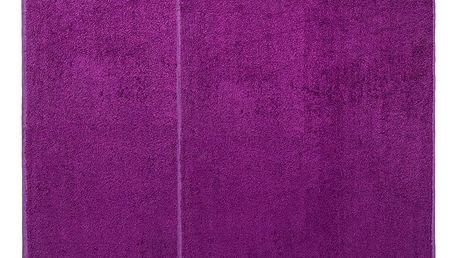 4Home sada Bamboo Premium osuška a ručník fialová, 70 x 140 cm, 50 x 100 cm