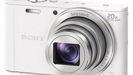 Sony Cybershot DSC-WX350, bílá - DSCWX350W.CE3