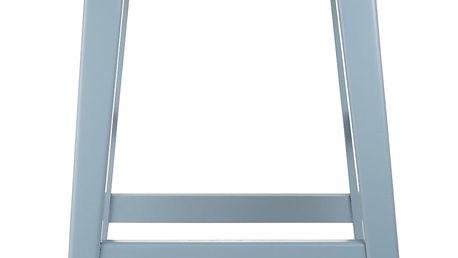 Modrá dřevěná stolička A Simple Mess Sid - doprava zdarma!