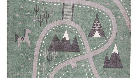 Dětský koberec Nattiot Little Western, 100x140cm - doprava zdarma!