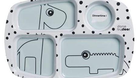 Dělený talíř Done by Deer Happy Dots
