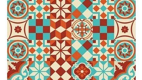 Vinylový koberec Huella Déco Colorido 196x133 cm - doprava zdarma!
