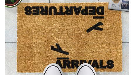 Rohožka Artsy Doormats Arrivals and Departures,40x60cm