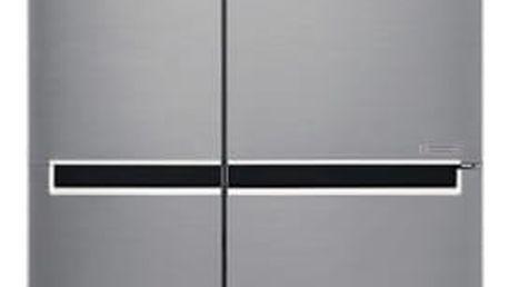 Kombinace chladničky s mrazničkou LG GSB760PZXZ nerez