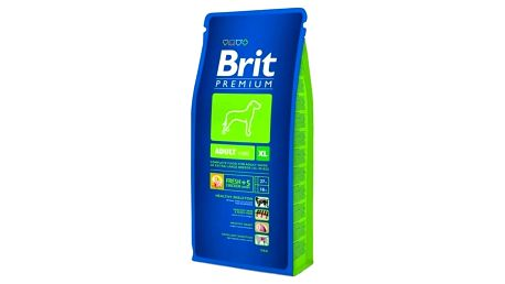 Granule Brit Premium Dog Adult XL 15 kg + Doprava zdarma