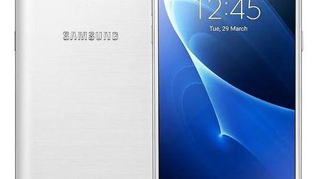 Mobilní telefon Samsung Galaxy J5 2016 (J510F) Dual SIM (SM-J510FZWUETL) bílý SIM s kreditem T-Mobile 200Kč Twist Online Internet (zdarma)Software F-Secure SAFE 6 měsíců pro 3 zařízení (zdarma)Power Bank Samsung Kettle 5100 mAh - modrá (zdarma) + Doprava