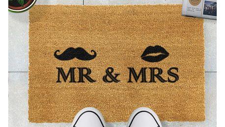 Rohožka Artsy Doormats Mr and Mrs,40x60cm