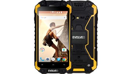 Evolveo StrongPhone Q9 LTE, žluto/černá - SGP-Q9-Y