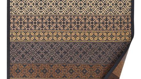 Béžový vzorovaný oboustranný koberec Narma Tidriku, 140x200cm - doprava zdarma!