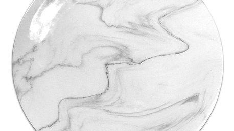 Keramický talíř Keramika Marble, ⌀25cm
