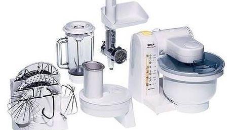 Kuchyňský robot Bosch MUM4655 EU bílý/kov/plast + Doprava zdarma