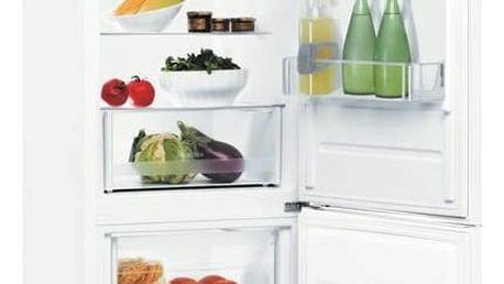 Kombinace chladničky s mrazničkou Indesit LR6 S2 W bílé + Doprava zdarma