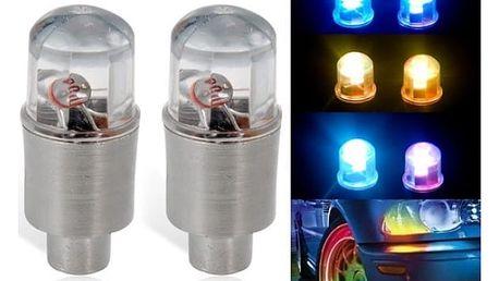 Svítící ventilky měnící barvu - 2 ks