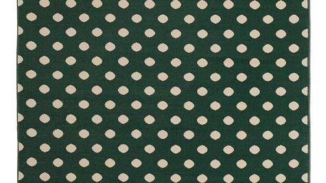 Zelený koberec Hanse Home Fringe, 140x200cm