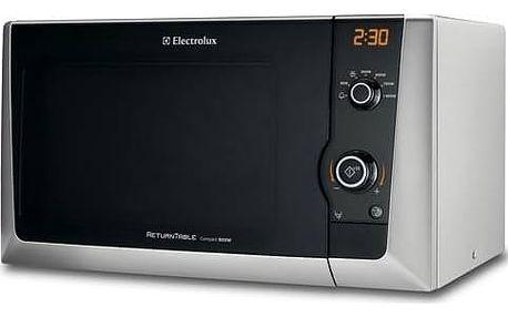 Mikrovlnná trouba Electrolux EMS 21400 S stříbrná + Doprava zdarma