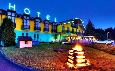 3–6denní wellness pobyt pro 2 v hotelu Sloup*** v jižních Čechách