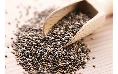 Zázračná chia semínka, 500 nebo 1000 gramů. Výborný prostředek na hubnutí bez vedlejších účinků.