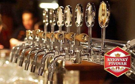 3–6denní pobyt pro 2 s polopenzí a pivem v hotelu Kyjovský pivovar*** na Slovácku