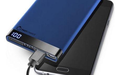 Power Bank CellularLine FreePower Manta 6000mAh (FREEPMANTA6000B) modrá