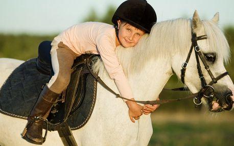 Letní příměstský tábor s koňmi pro děti 6–12 let