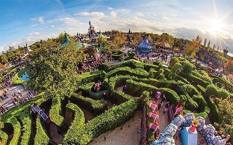 4denní zájezd pro 1 osobu do Disneylandu a Studií Walta Disneyho ve Francii