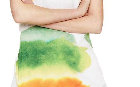 Desigual barevné pouzdrové šaty Nilina