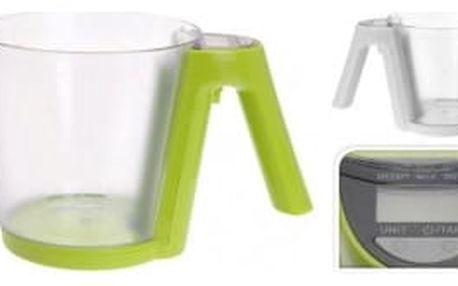 Váha kuchyňská digtální 2 kg s odměrkou 1200 ml ProGarden KO-179733