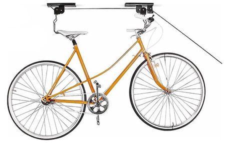 Vytahovací kladkový věšák na jízdní kolo
