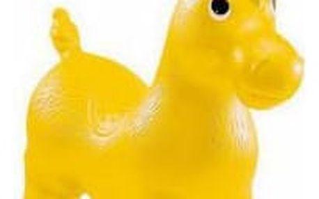 JOHN Hopsadlo ponny 55x50cm žlutá
