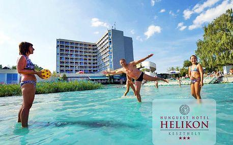 Relax u Balatonu v hotelu Hunguest se soukromou pláží a polopenzí nebo all inclusive