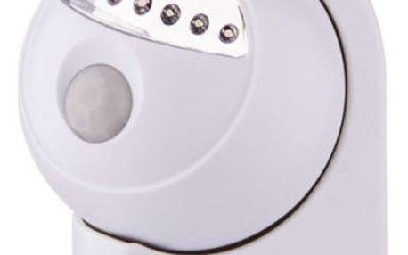 Noční světlo EMOS na baterie, 5 x LED s PIR čidlem (1440053210) bílé