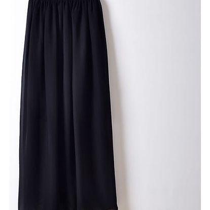 Dámská maxi sukně - černá