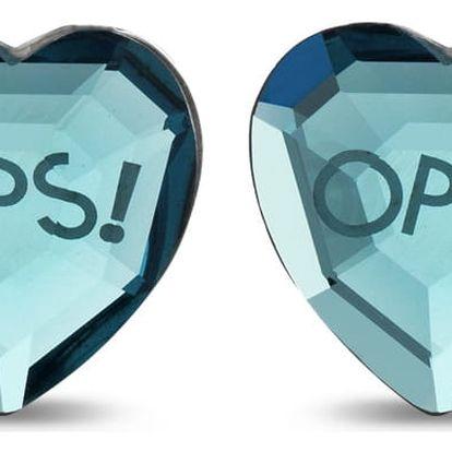 Ops! Objects modré náušnice Ops! Shiny