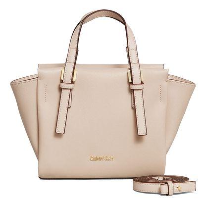 Calvin Klein béžová elegantní kabelka M4RISSA Mini Tote