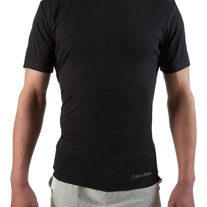 Calvin Klein černé pánské tričko Crew Neck