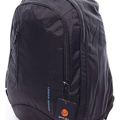 Pánsky batoh černý - Diviley Rendy černá