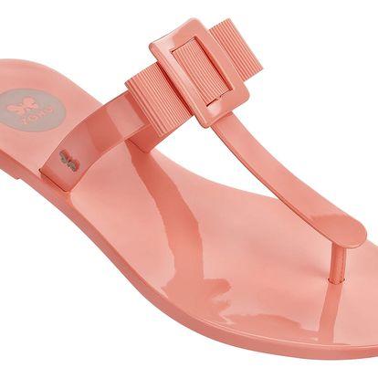 Žabky Zaxy Fluffy Thong Fem Pink