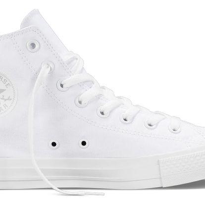Converse bílé dámské tenisky CTAS HI White Monochrome