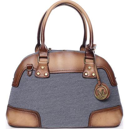Retro dámská kabelka do ruky modrá - MARIA C Honore modrá