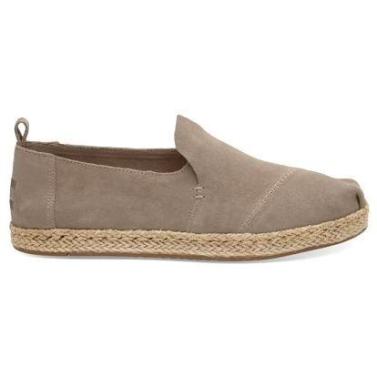 Toms béžové boty Toms Desert Taupe Suede