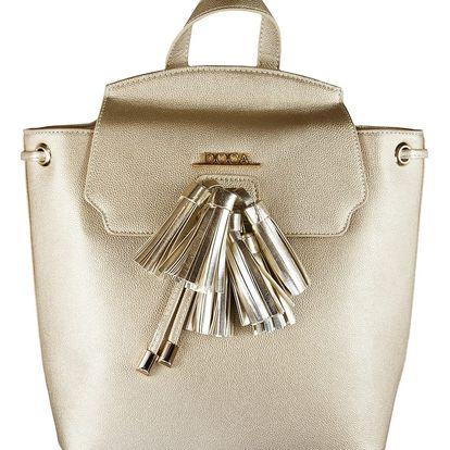 Doca zlatý stylový batoh