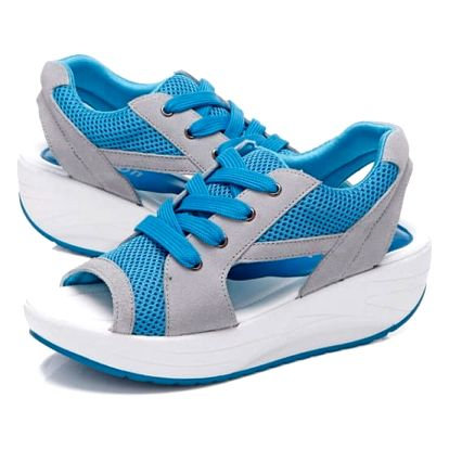Dámské sandály na cestování - modré, vel. 37 - dodání do 2 dnů