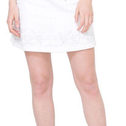 Desigual bílá sukně Lauras