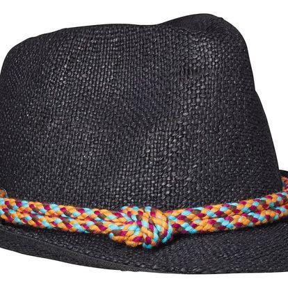 Scotch&Soda černý dámský klobouk Straw Summer