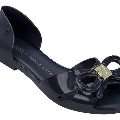 Melissa tmavě modré sandály Seduction + Vitorino Navy