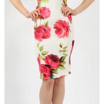 Dámské květované šaty Teresa