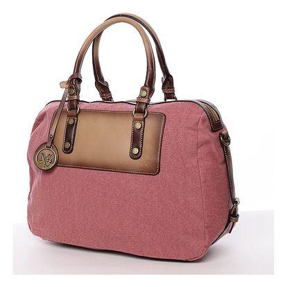 Originální dámská kabelka do ruky červená - MARIA C Fayette červená