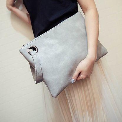 Dámská kabelka do ruky v elegantním provedení - Šedá