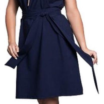 Elegantní šaty v plus size velikostech - 3 barvy