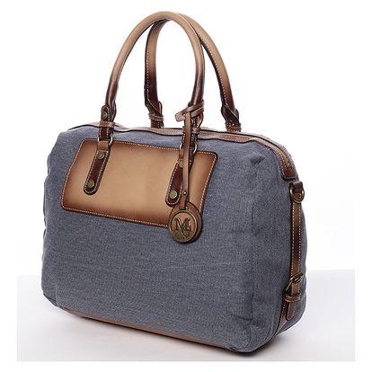 Originální dámská kabelka do ruky modrá - MARIA C Fayette modrá